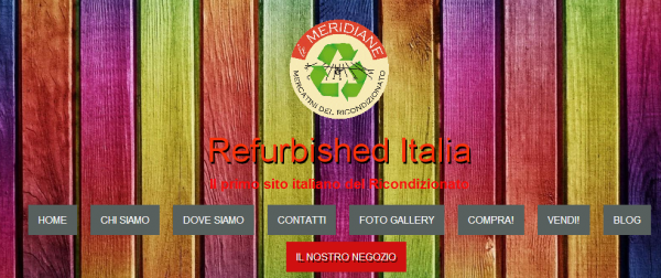 Refurbished Italia Apparecchi elettronici refurbished