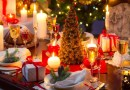 Addobbi Natalizi low cost per il pranzo di Natale