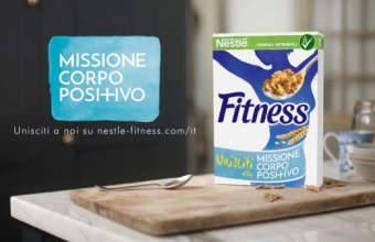 Nestlé FITNESS: mangiare e vivere per #MissioneCorpoPositivo