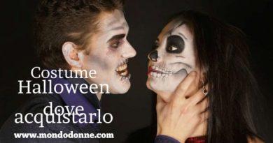Costume halloween dove acquistarlo