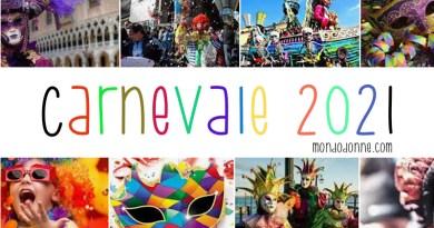 Carnevale 2021 date