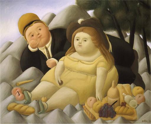 pittore botero donne grasse