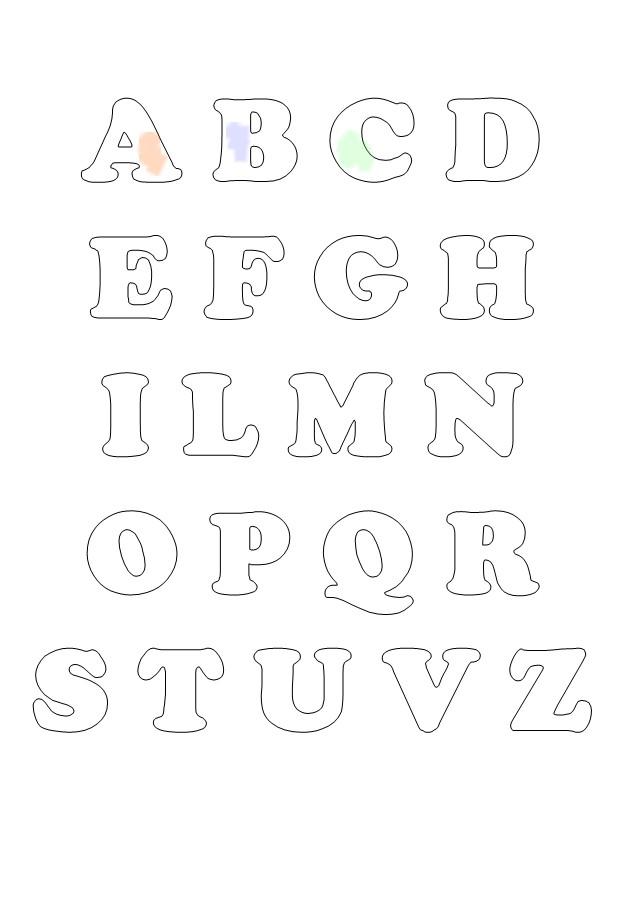 Alfabeto per bambini da colorare mondo fantastico for Pesciolini da colorare per bambini