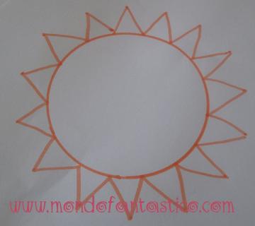 Come disegnare il sole per i più piccoli