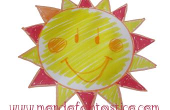 Come disegnare il sole, per i più piccoli