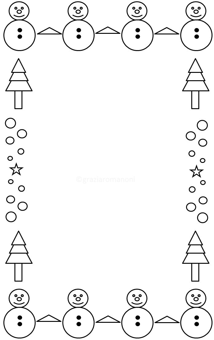 Cornicette Babbo Natale.Cornicette Di Natale Mondofantastico Com