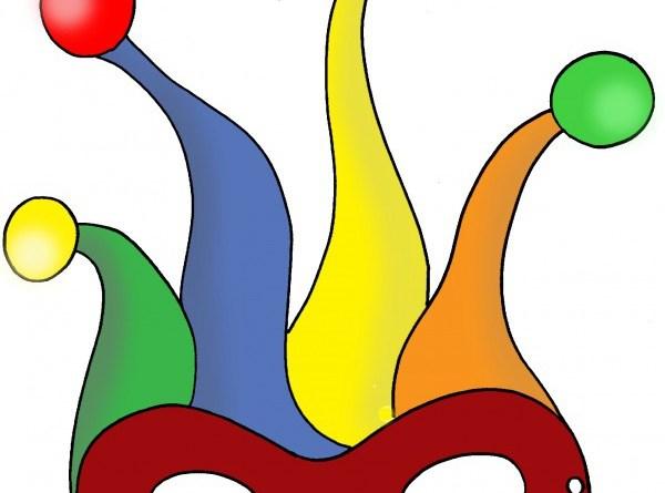Maschere di carnevale da colorare