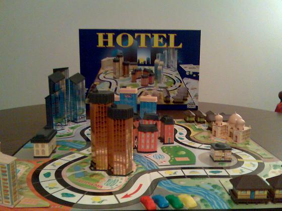 Hotel - gioco da tavolo