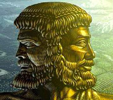 Giano - dio romano a due facce