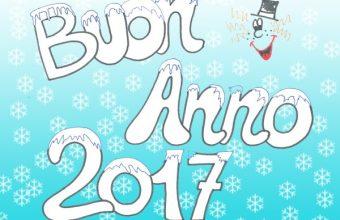 Parole da Colorare: Buon Anno 2017
