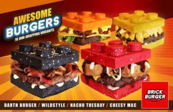 Lego Hamburger per i golosi da Brick Burger