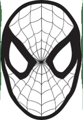 Carnevale Maschera Di Spiderman Da Colorare Mondofantastico Com