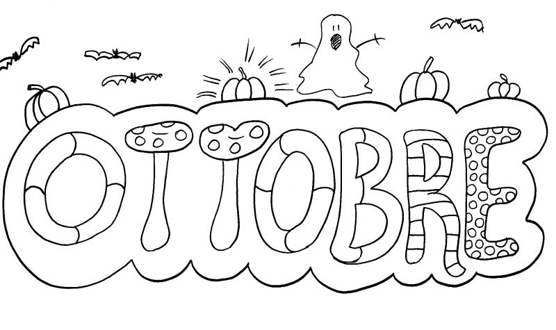 Colora mese di ottobre