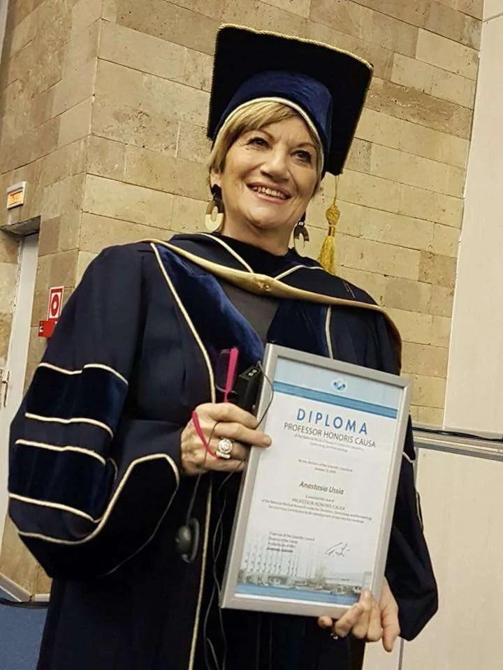 Profssa Anastasia Ussia