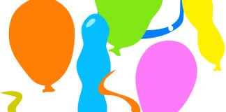 palloncini gonfiabili per feste