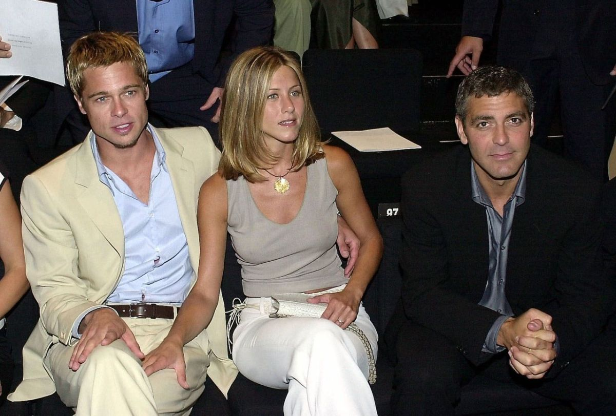 Pitt-Aniston, Hollywood li fa e George li ri-accoppia!