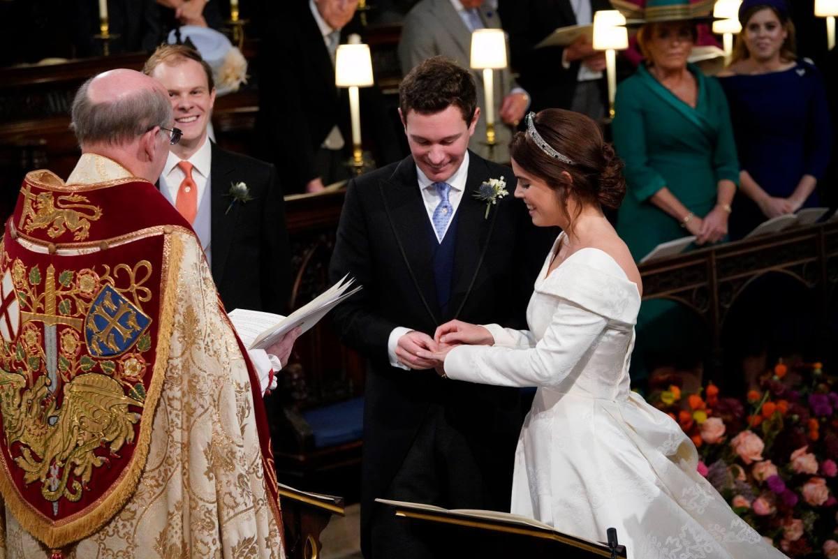 Al matrimonio di Eugenia di York, i protagonisti sono gli spettatori