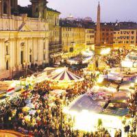 QUANTO SONO ROMANTICI I MERCATINI DI NATALE A ROMA