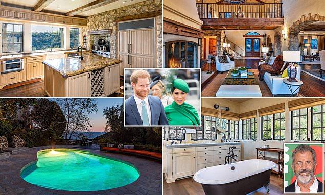 Harry e Meghan Markle abiteranno a casa di Mel Gibson