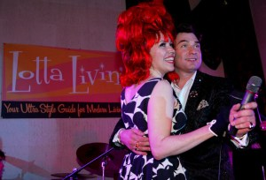 Cherry Capri and Art Vargas Mondo Lounge DAVID SPRAGUE-