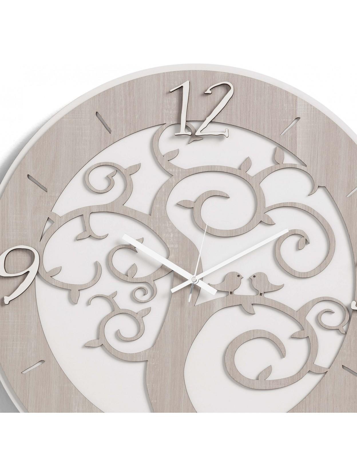 Una vasta scelta di orologi di design moderno (come quelli a forma di albero della vita) , firmati (carlo pignatelli o cuorematto) classico e contemporaneo (in vetro o porcellana) a prezzi outlet per abbellire il muro, l'ambiente e creare la giusta atmosfera alla tua casa. Orologio Da Parete Moderno Albero Della Vita D50 Legno Taglio Laser M7