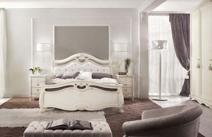 Eva camera matrimoniale, colore olmo, letto senza contenitore,. Mobilificio Frosinone Mondo Mobili
