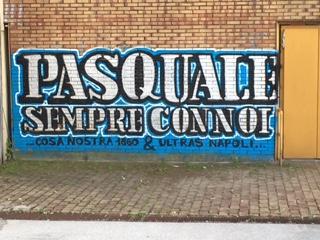 Foto I Tifosi Azzurri Omaggiano Pasquale D Angelo Murales A