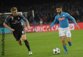 Napoli - Real Madrid insigne kroos