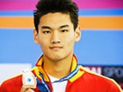 Xu Jiayu CHN bronze medal Men's 50m backstroke final 17/11/2012 9th Asian Swimming Championships Dubai - U.A.E.  Nov.15th - 25th 2012 Day 03 - Opening Press Conference Photo Giorgio Perottino/Deepbluemedia/Insidephoto