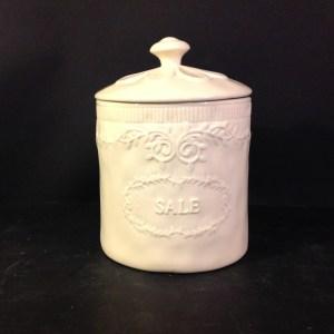 Preziosa Luxury Barattolo in ceramica beige chiaro Sale Preziosa Luxury