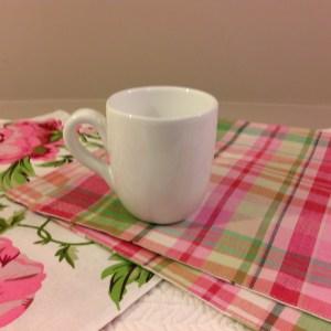 Côté Table Porta utensili ceramica bianca