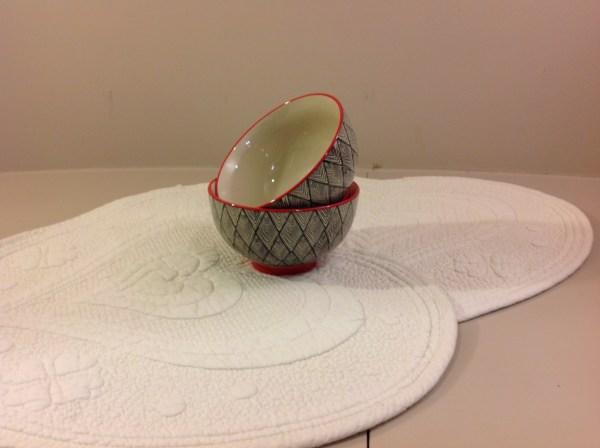 ciotola fantasia in ceramica