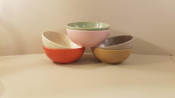 insalatiera ceramica colori assortiti cm 23
