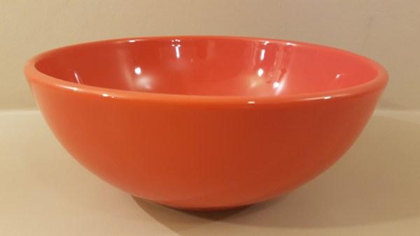 insalatiera ceramica corallo cm 26