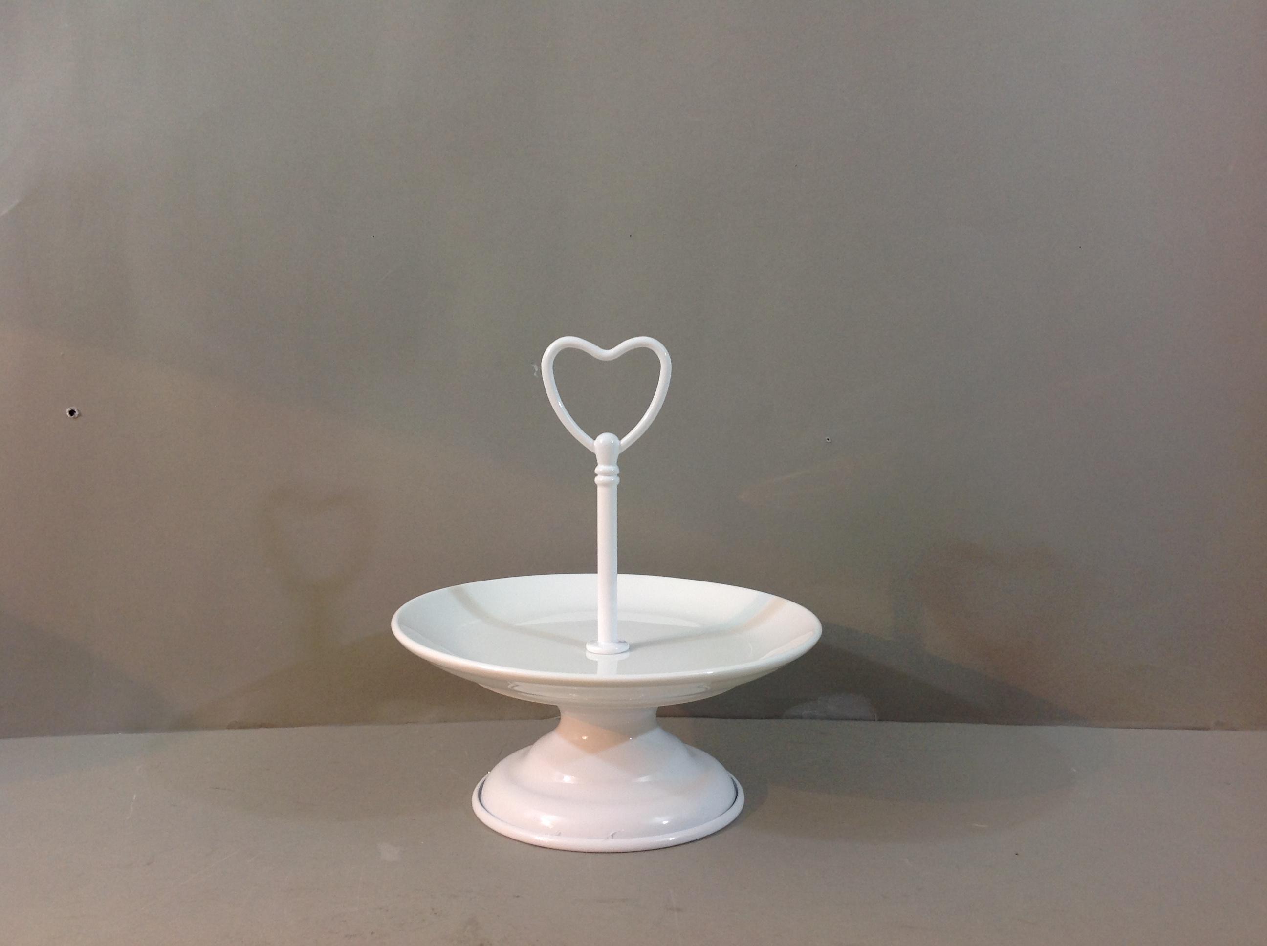 Angelica Home & country   Alzatina ceramica e metallo ...