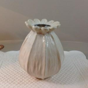 vaso ceramica a fiore