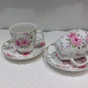 tazza caffe rose selvatiche