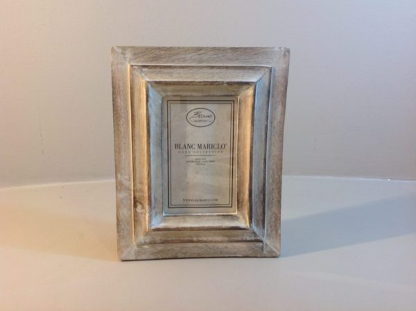Blanc Mariclò Porta foto 10x15 in legno naturale sbiancato