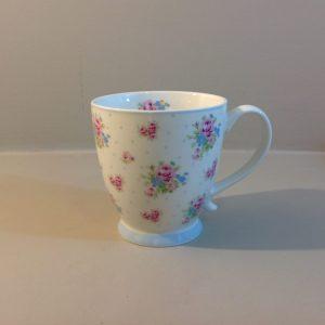 Isabelle Rose Mug in porcellana fiorellini