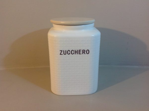 Brandani Barattolo in porcellana Zucchero