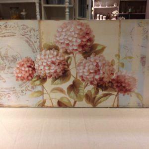 Antic Line Quadro con rose 100x50 cm.