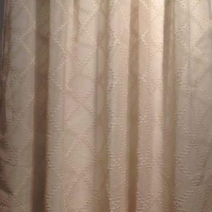 Blanc Mariclò Tenda beige in poliestere 145x290+10
