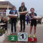 Il podio femminile dell'Irondelta Medio di Primavera (Foto: Chiara Perbellini)