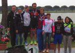 Il podio dell'Irondelta di Primavera 2015 vinto da Martina Dogana e Mattia Ceccarelli