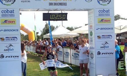 Il Grand Prix Triathlon Italia incendia Segrate