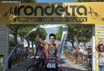 Al traguardo il trionfatore del triathlon sprint Irondelta 2015 è Luca Facchinetti (Foto: Marco Bardella)
