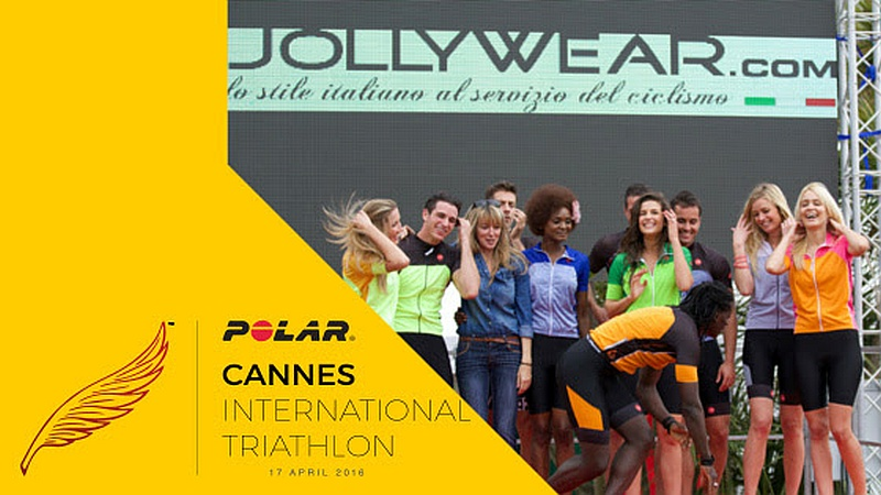 Jollywear veste il meglio del Cannes International Triathlon 2016