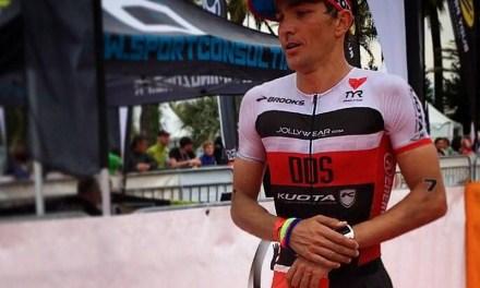 Daniel Fontana da Cannes all'Ironman Brasile