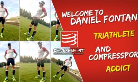 Daniel Fontana sceglie Compressport