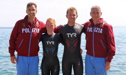 TYR sigla accordo con Fiamme Oro Triathlon